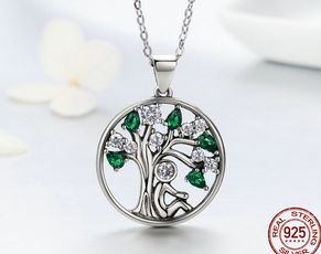 Tree Silver Necklace