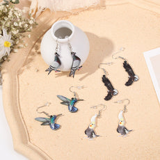 """My Flying Creatures"" Earrings"