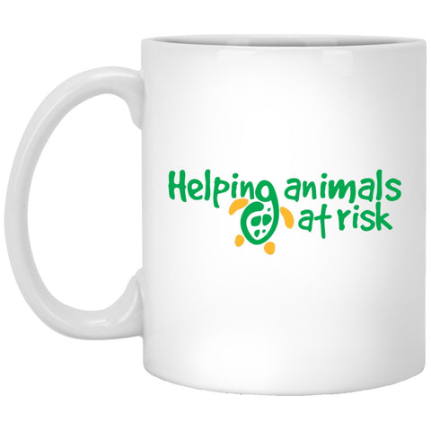 "Accessories - ""Helping Animals At Risk"" 11 Oz. Turtle Mug"