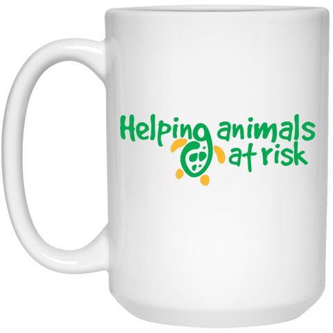 "Accessories - ""Helping Animals At Risk"" 15 Oz. Turtle Mug"