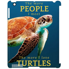 "Accessories - ""The More People I Meet"" IPad Clip Case"