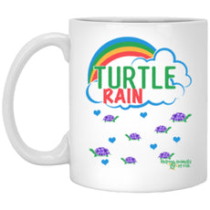"Accessories - ""Turtle Rain"" 11 Oz. Turtle Mug"