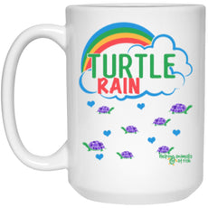 "Accessories - ""Turtle Rain"" 15 Oz. Turtle Mug"