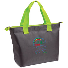 "Bags - ""Turtle Rain"" Zippered Tote"