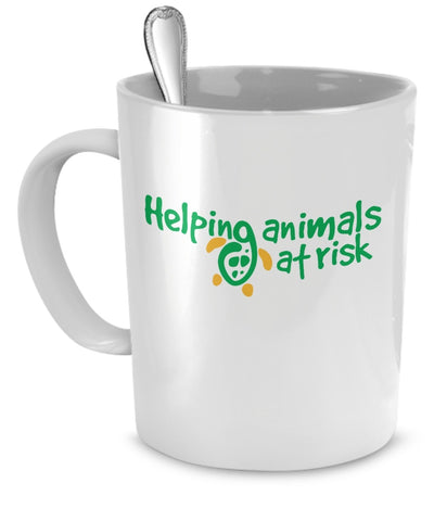 Coffee Mug - Helping Animals At Risk Logo Coffee Mug