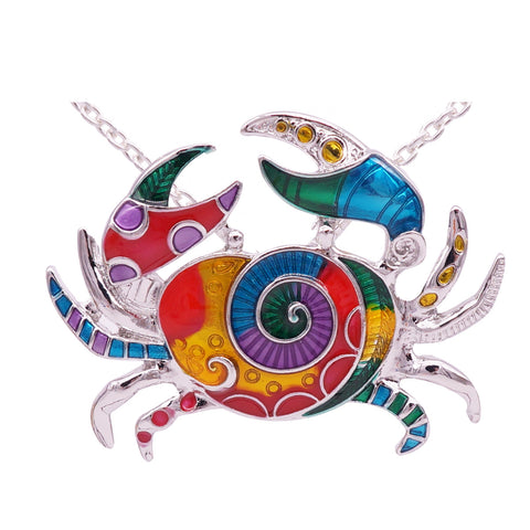 Wholesale Crab Necklace (12x Pack)