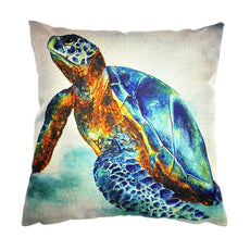 Cushion - Handmade Sea Turtle Cushion