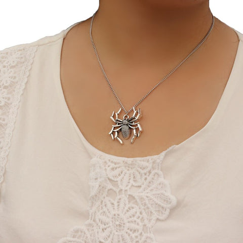 Free Spider Necklace