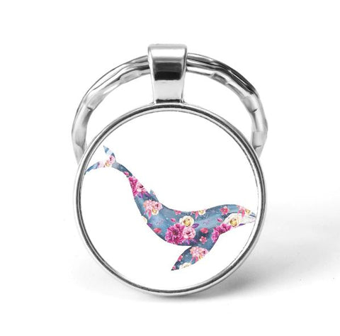 Dolphin Animal Keychain