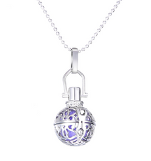 Classic Round Necklace Aromatherapy Lockets
