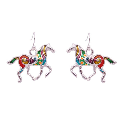 Earrings - Horse Earrings