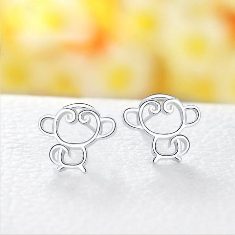Earrings - Monkey Earrings