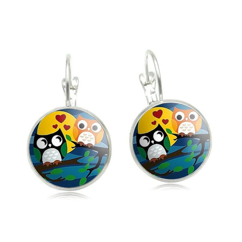 Earrings - Owl Earrings
