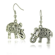 Earrings - Tibetan Elephant Earrings