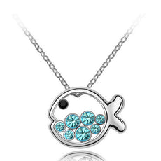 Fish Necklace  (2 Color Styles)