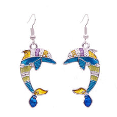 Get A Pair Of Dolphin Matching Earrings For $9.95!