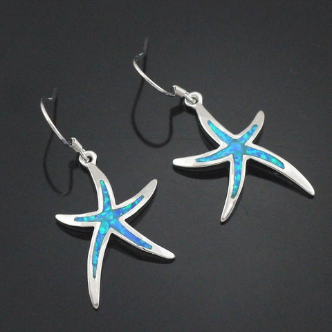Linear - Add These Opal Starfish Matching Earrings For Just $17.95