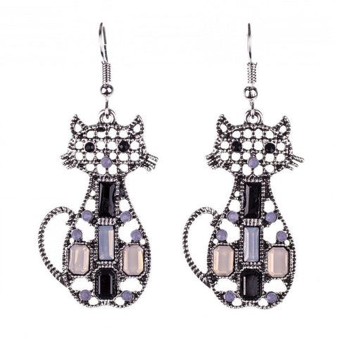 Linear - Get A Pair Of Cat Matching Earrings For $9.95!