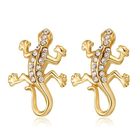 Linear - Get A Pair Of Gecko Matching Earrings For $7.95!