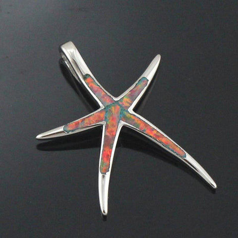 Linear - Opal Starfish Necklace
