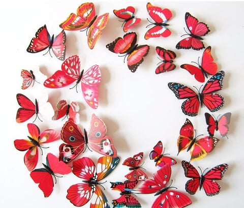 Linear - Throw In A 3D Butterfly Wall Stickers Pack For Only $6.95!