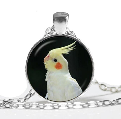 Parrot Cameo Necklace