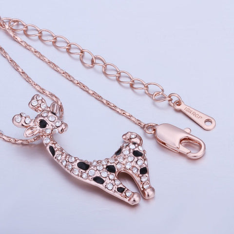 Necklace - Cute Giraffe Necklace