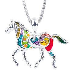Necklace - Free Horse Necklace