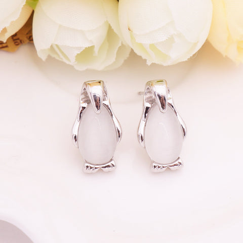 Free Penguin Earrings