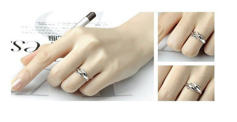 Rings - Double Dolphin Adjustable Ring