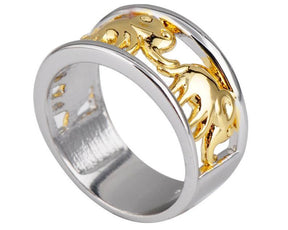 Rings - Elephant Migration Eternity Ring