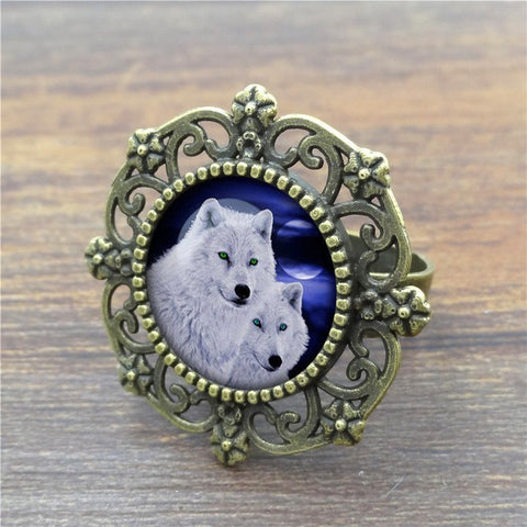 Rings - Moon Wolf Ring