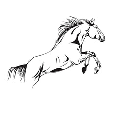 RUNNING HORSE WALL DECOR
