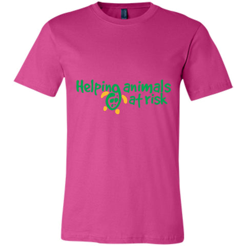 "T-Shirts - ""Helping Animals At Risk"" Unisex Turtle T-shirt (multiple Colors)"
