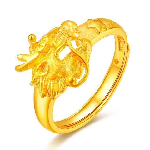 Yellow Dragon Ring