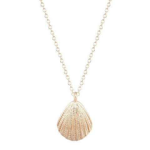 Free Gold Shell Necklace