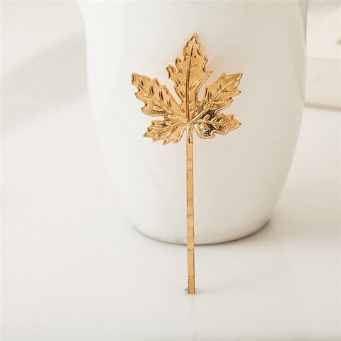 The Leaf Hairpin