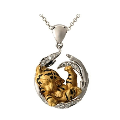 "New ""Sleeping Tiger"" Necklace"