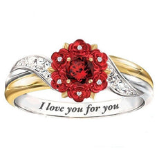 """Love You"" Rose Ring"