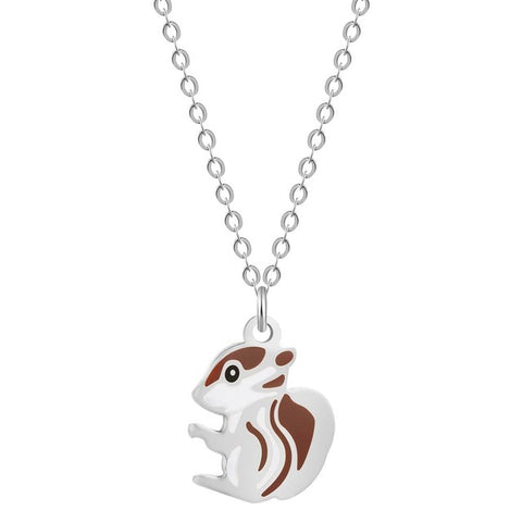 Free Baby Squirrel Necklace