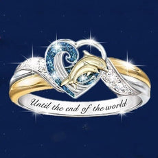 """Until The End Of the World"" Dolphin Ring"