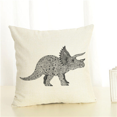 Dino World Cushion