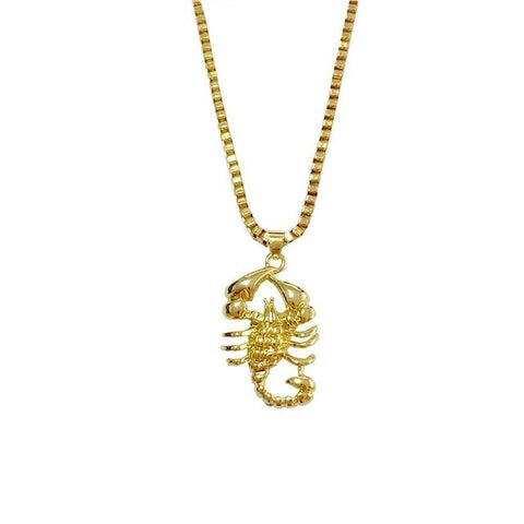 Free Scorpion Necklace
