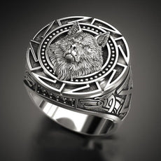 Serious Wolf Ring