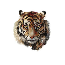 Free Live Tiger Sticker for Clothes