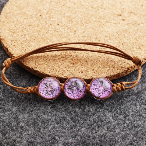 Amazing Dried flower Bracelet
