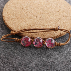 New Dried flower Bracelet