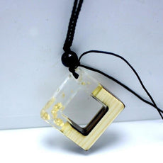 """The Gold Square"" Necklace"