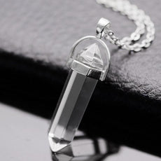 Clear Stone Necklace