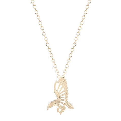 Free Flying Eagle Necklace